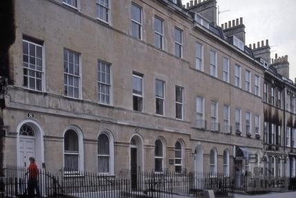 8 to 13, Henrietta Street, Bath 1983