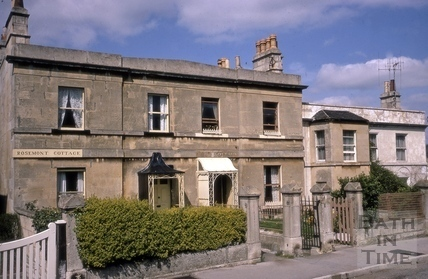Rosemont Cottage, Ister Cottage and Fir Cottage, Hampton Row , Bathwick, Bath 1967