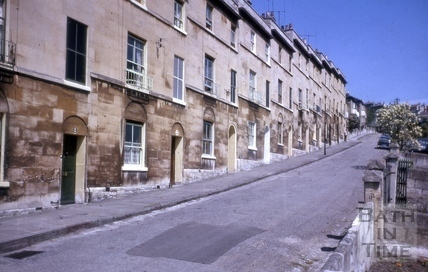 Highbury Place, Snow Hill, Bath 1964