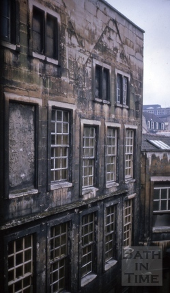 North side of 23, High Street, Bath 1964