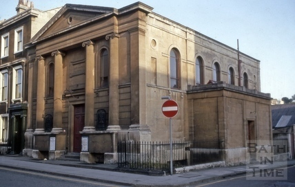 New Church, Henry Street, Bath 1970