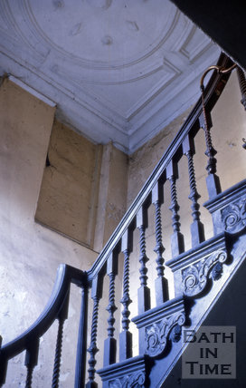 Staircase, 24, High Street, Bath 1964