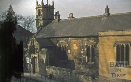 St. Mary Magdalen's Chapel, Holloway, Bath 1955