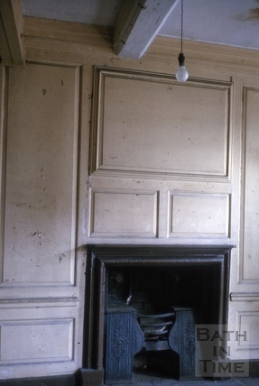 Panelling and fireplace, 13, High Street, Bath 1964