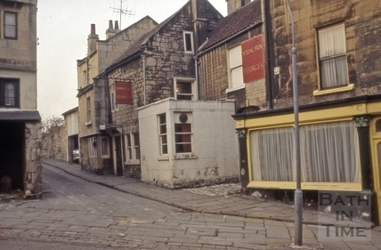 The Young Fox, Old Orchard from Holloway, Bath 1966