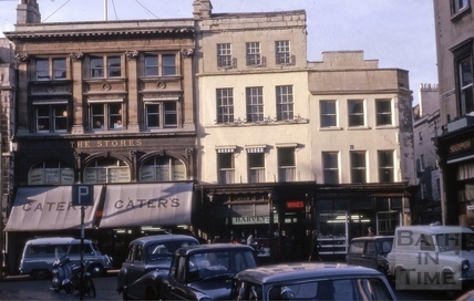 Cater's Stores, 25 to 27, High Street, Bath Jan 1964