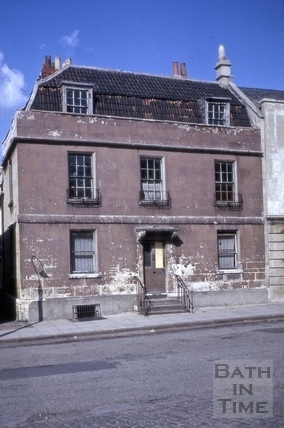 34, James Street West, Bath 1965