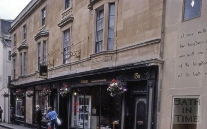 13 to 15, John Street, Bath 1983