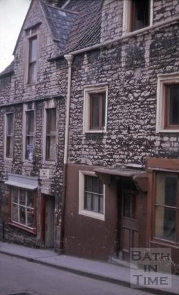 Gabled houses, 17 & 19, Holloway, Bath 1963