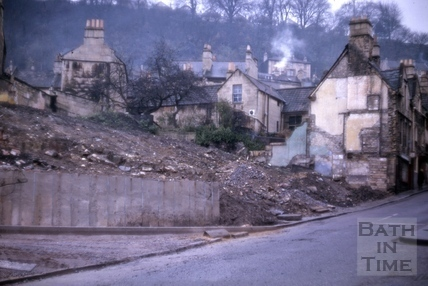 Demolition of Holloway, Bath 1964