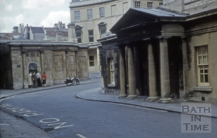 The Hot Bath and Cross Bath, Hot Bath Street, Bath 1960s