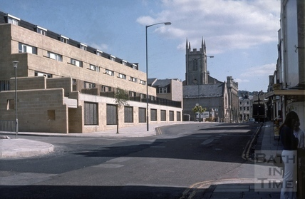 Lampard's Buildings, Julian Road, Bath 1975