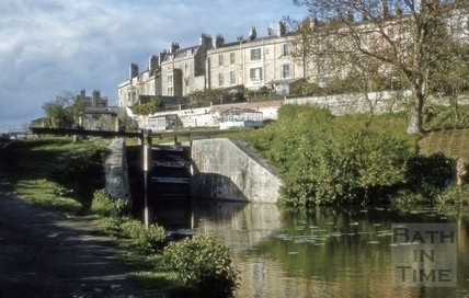The Kennet and Avon Canal, Widcombe, Bath 1972?