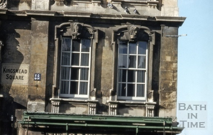 Windows, Rosewell House, 11 to 14, Kingsmead Square, Bath 1962