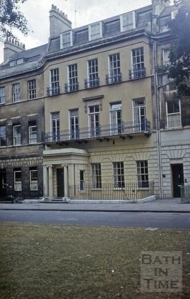 13, Grosvenor Place, Bath 1960s?