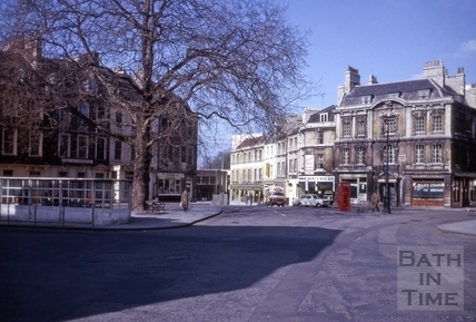 Kingsmead Square and New Street, Bath 1965