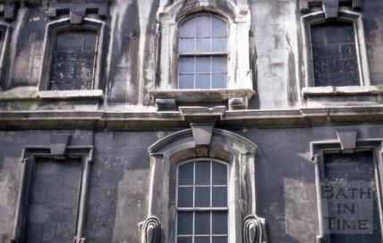 Windows, Rosewell House, 12 to 14, Kingsmead Square, Bath 1969