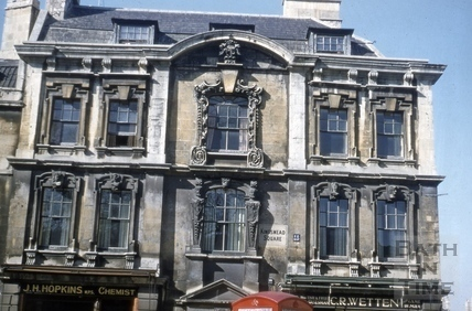 Windows, Rosewell House, 12 to 14, Kingsmead Square, Bath 1956