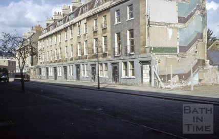 1 to 13, Kingsmead Terrace, Bath 1967