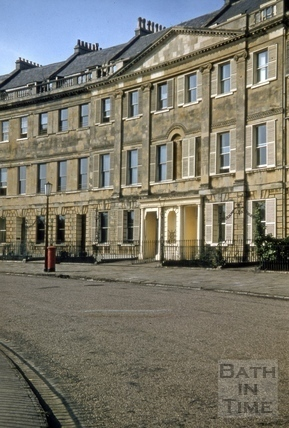 10 to 13, Lansdown Crescent, Bath 1955
