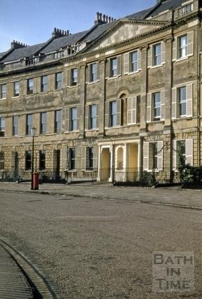 10 to 13, Lansdown Crescent, Bath 1955