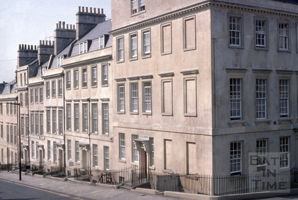 1 to 6, Oxford Row, Lansdown Road, Bath 1975