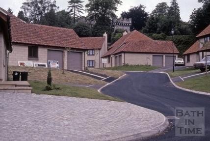 Dixon Gardens, Lansdown, Bath 1981