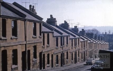 Lampard's Buildings, Bath 1969