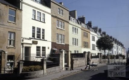 Lambridge Place, Larkhall, Bath 1973