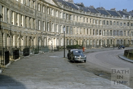 Lansdown Crescent, Bath 1956