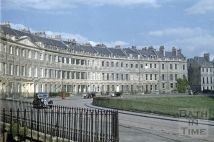 Lansdown Crescent, Bath 1953