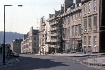 Oxford Row, Lansdown Road, Bath 1976