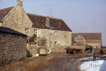 Lansdown farm and chapel, Bath 1950s