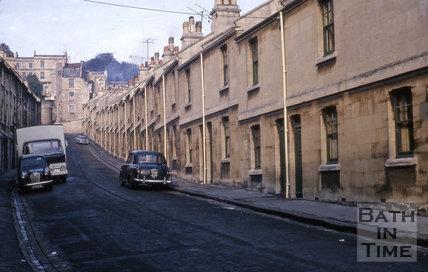 Lampard's Buildings, Bath 1966