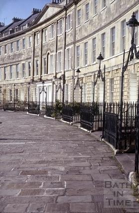 Lansdown Crescent, Bath 1974
