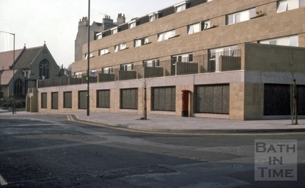 Lampard's Buildings, Julian Road, Bath 1976