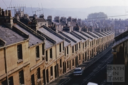Lampard's Buildings, Bath 1966