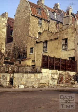 Lansdown Road west to High Street, Bath 1966