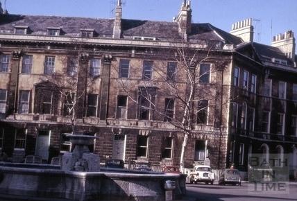 2 & 3, Laura Place and 1, Henrietta Street, Bath 1964
