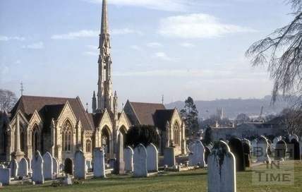 St. James's Cemetery, Lower Bristol Road, Bath 1970