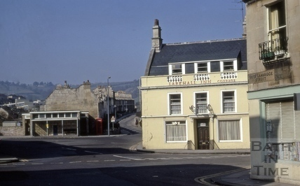 Larkhall Inn, Larkhall, Bath 1973