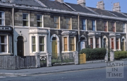 47 to 51, Lower Bristol Road (2 to 6, Sydenham Terrace), Bath 1975