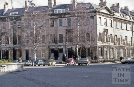 2 & 3, Laura Place and 1 & 2, Henrietta Street, Bath 1974