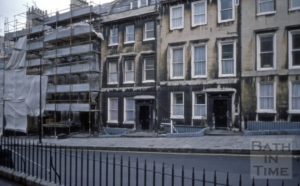 7 to 11, Oxford Row, Lansdown Road, Bath 1976