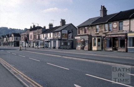 65 to 83, Lower Bristol Road (Westmoreland Mart and Westmoreland Terrace), Bath 1975