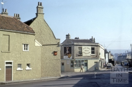 Larkhall from Salisbury Road, Bath 1973