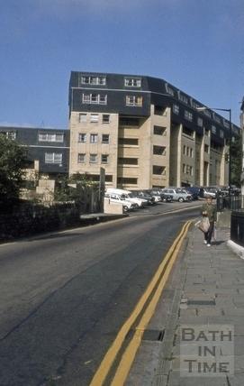 Ballance Street flats, Lansdown Road, Bath 1973