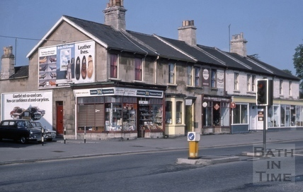 81 to 86, Lower Bristol Road (10 to 15, Westmoreland Terrace), Bath 1975