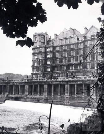 The Empire Hotel, Bath 1969