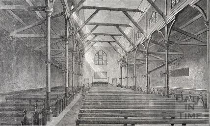 Interior of St. James's Hall, Bath c.1910